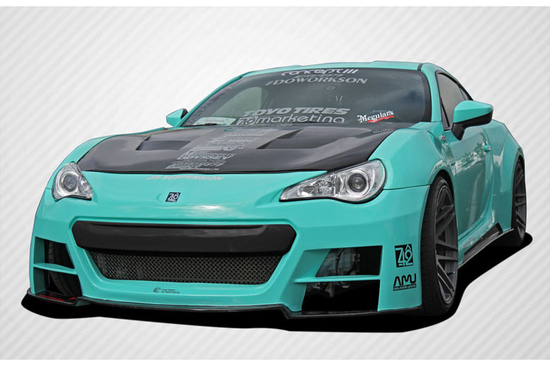 2013 Subaru BRZ Carbon Creations 86-R Body Kit