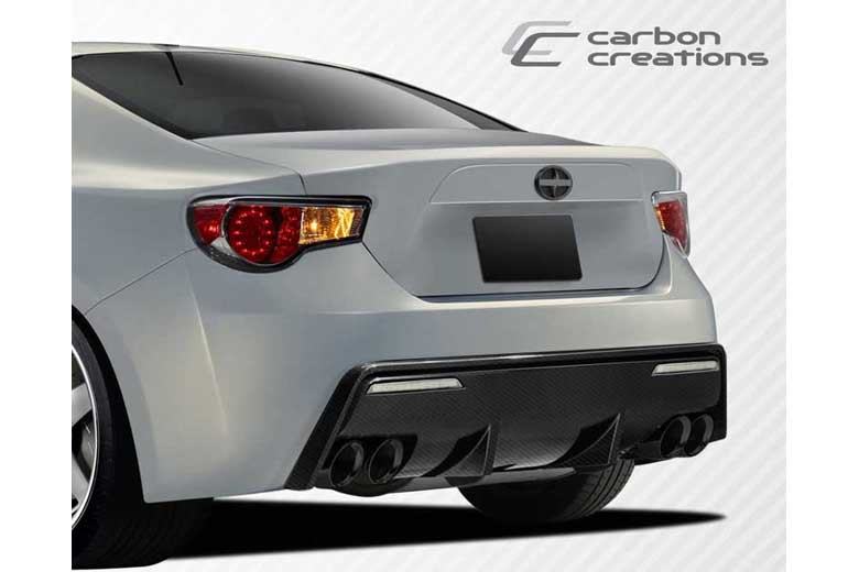 2013 Subaru BRZ Carbon Creations 86-R Bumper (Rear)