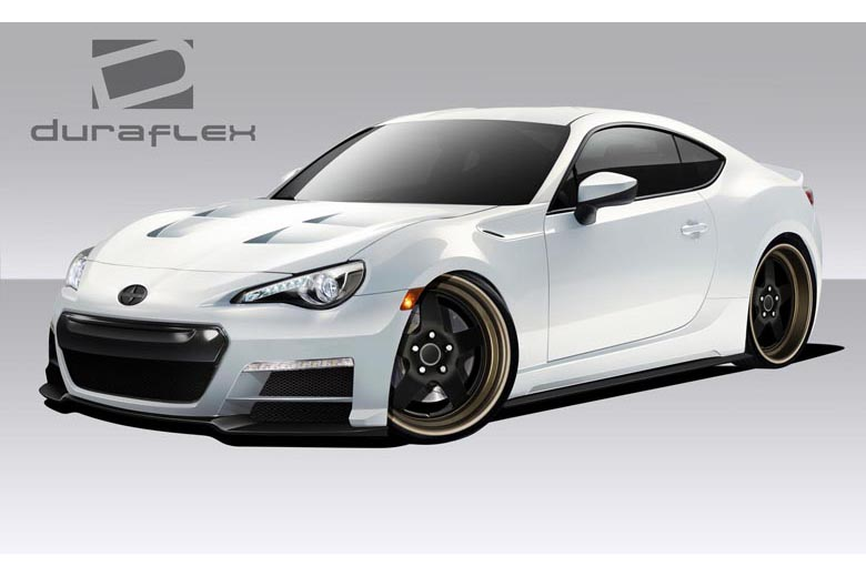 duraflex scion frs 2013 2014 86 r body kit. Black Bedroom Furniture Sets. Home Design Ideas