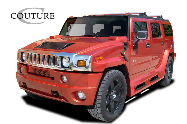 2006 Hummer H2 Couture Vortex Body Kit