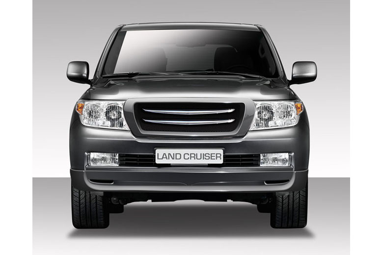 2009 Toyota Land Cruiser Duraflex L-Sport Front Lip (Add On)