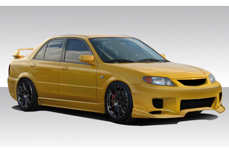 2001 Mazda Protege Duraflex Aggressive Body Kit
