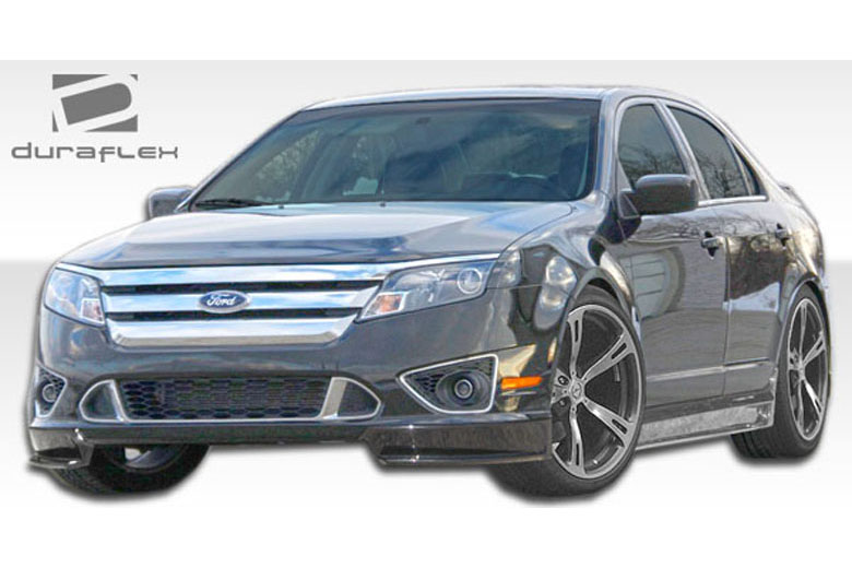 2012 Ford Fusion Duraflex Racer Front Lip (Add On)