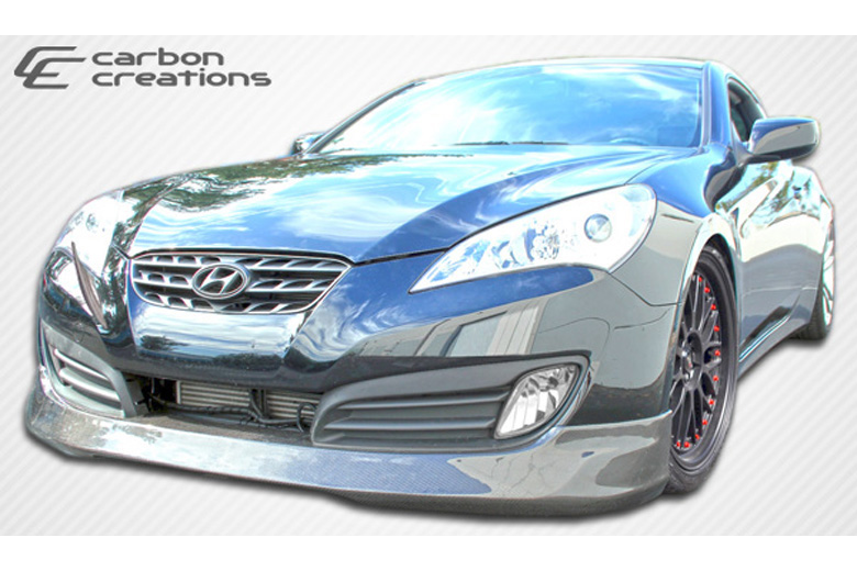 2012 Hyundai Genesis Carbon Creations MS-R Front Lip (Add On)