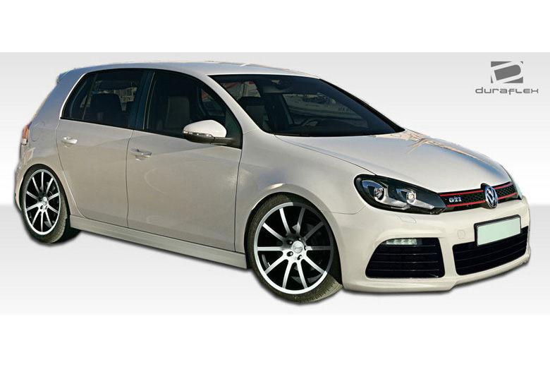 2012 Volkswagen Golf Duraflex R Look Body Kit