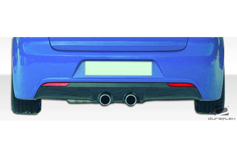 2012 Volkswagen Golf Duraflex R Look Rear Lip (Add On)