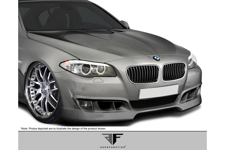 2012 BMW 5-Series Aero Function AF-1 Front Lip (Add On)