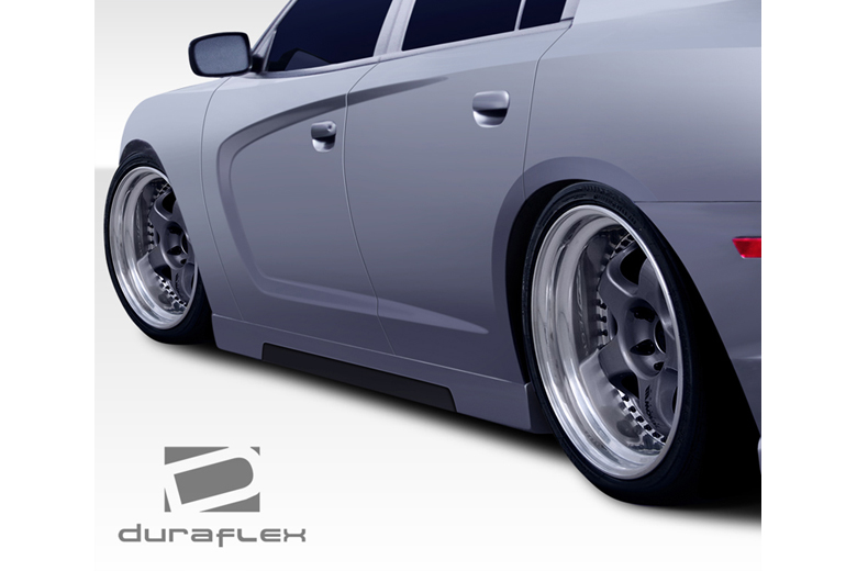 2014 Dodge Charger Duraflex Hot Wheels Sideskirts