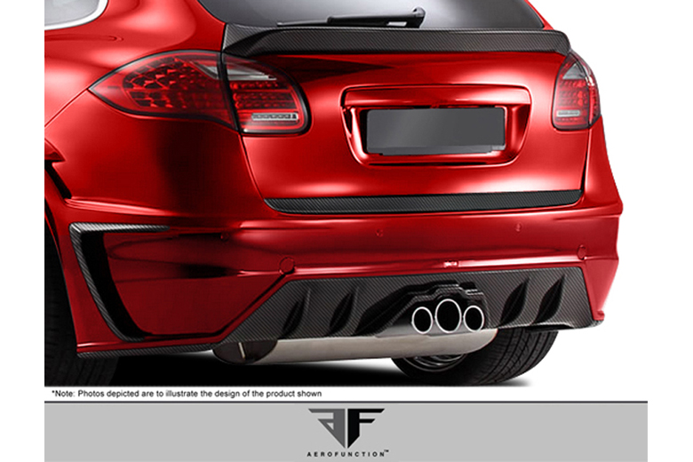 2012 Porsche Cayenne Aero Function AF-1 Exhaust Heat Shield