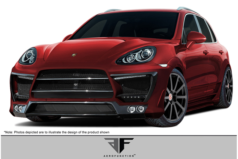 2012 Porsche Cayenne Aero Function AF-1 Body Kit