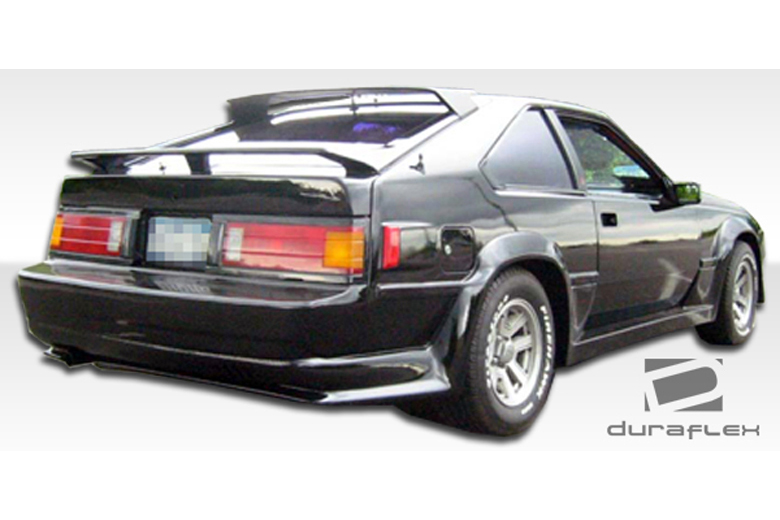 1986 Toyota Supra Duraflex F-1 Rear Lip (Add On)