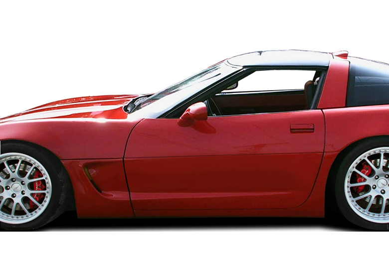 1987 Chevrolet Corvette Duraflex C5 Conversion Sideskirts