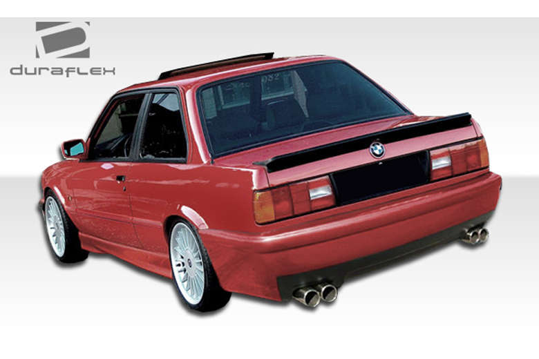 1989 BMW 3-Series Duraflex CSL Look Bumper (Rear)
