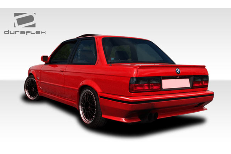 1989 BMW 3-Series Duraflex Evo Look Bumper (Rear)