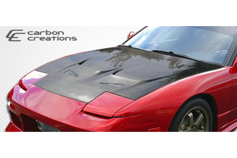1992 Nissan 240SX Carbon Creations J-Spec Hood