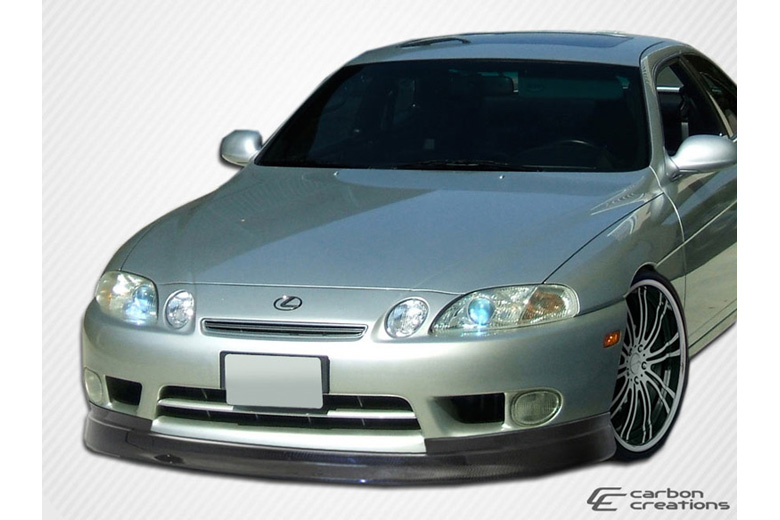 1996 Lexus SC Carbon Creations V-Speed Front Lip (Add On)