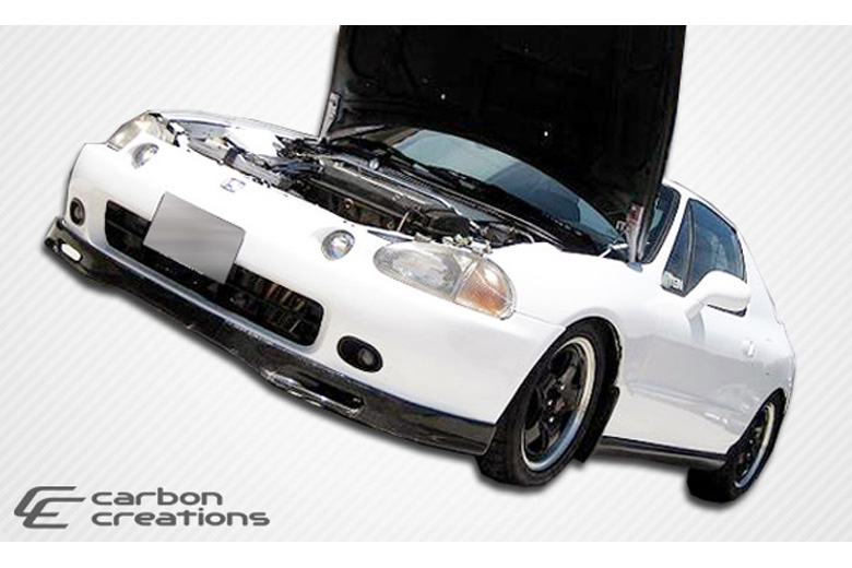 1997 Honda Del Sol Carbon Creations Spoon Style Front Lip (Add On)