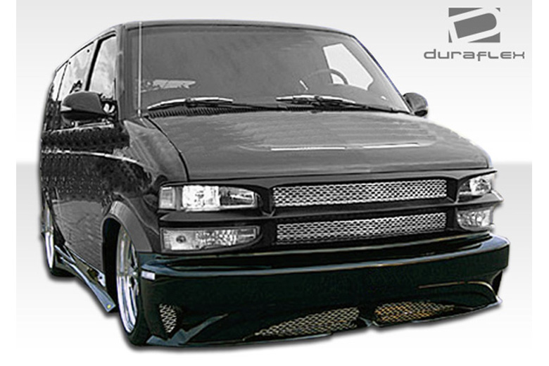 2002 Chevrolet Astro Extreme Dimensions Zenith Bumper (Front)