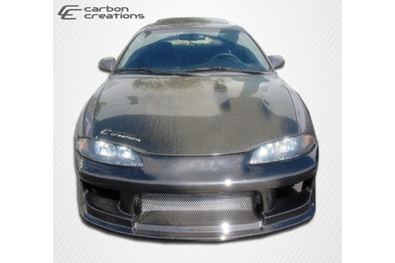 1999 Mitsubishi Eclipse Carbon Creations Drifter Bumper (Front)