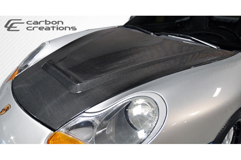 2001 Porsche Boxster Carbon Creations Maston Hood