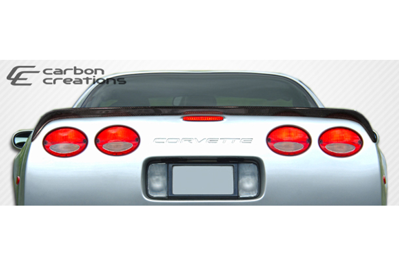 2001 Chevrolet Corvette Carbon Creations S-Design Spoiler