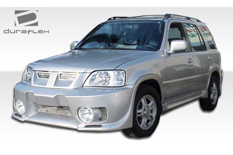 Duraflex honda cr v 1997 2001 evo 5 front bumper for 1997 honda crv window motor replacement