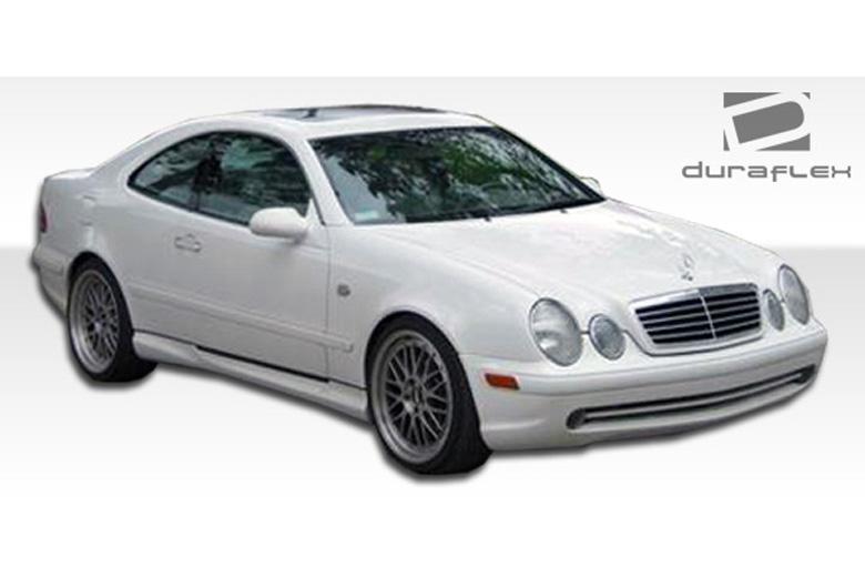 Duraflex mercedes clk class 1998 2002 amg body kit for Mercedes benz clk body kit
