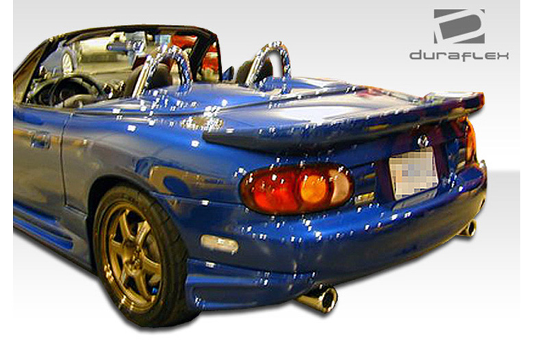 2001 Mazda Miata Duraflex Bomber Rear Lip (Add On)