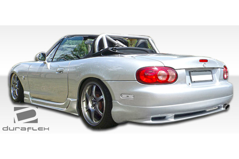 2001 Mazda Miata Duraflex Wizdom Rear Lip (Add On)
