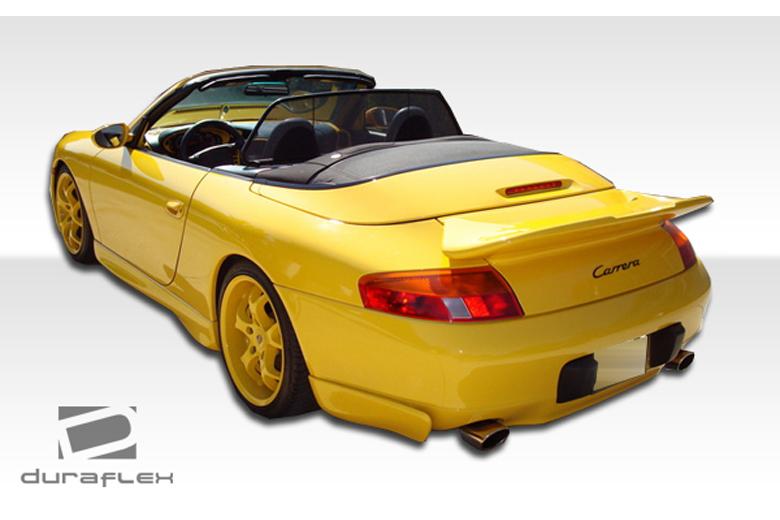 duraflex porsche 911 1999 2001 turbo body kit. Black Bedroom Furniture Sets. Home Design Ideas