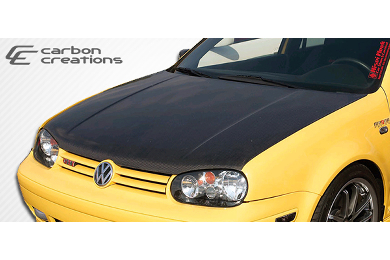 2004 Volkswagen Golf Carbon Creations Hood