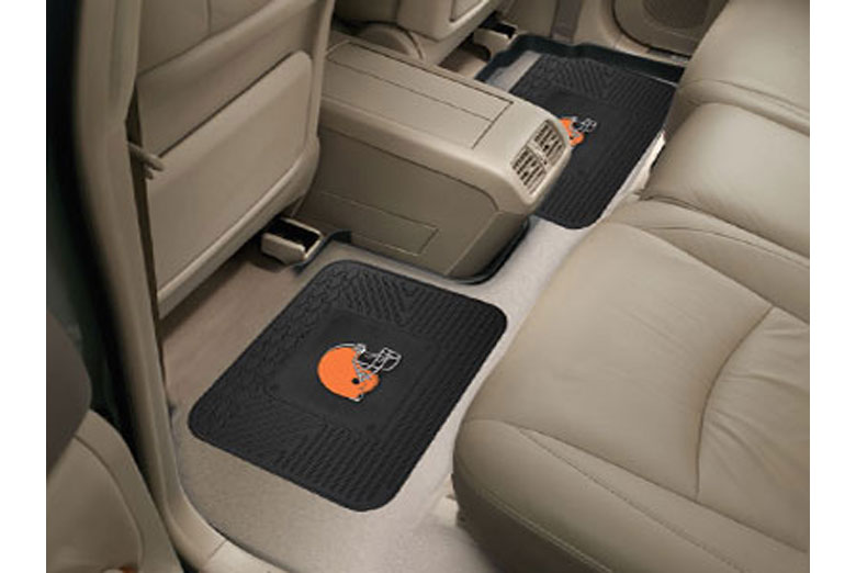 NFL Rear Vinyl Floor Mats