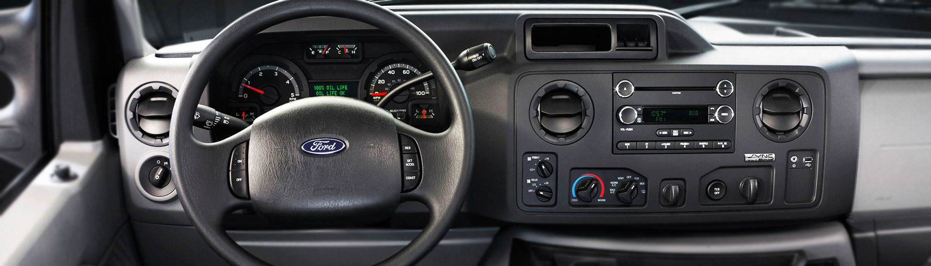 Ford E-150 Custom Dash Kits
