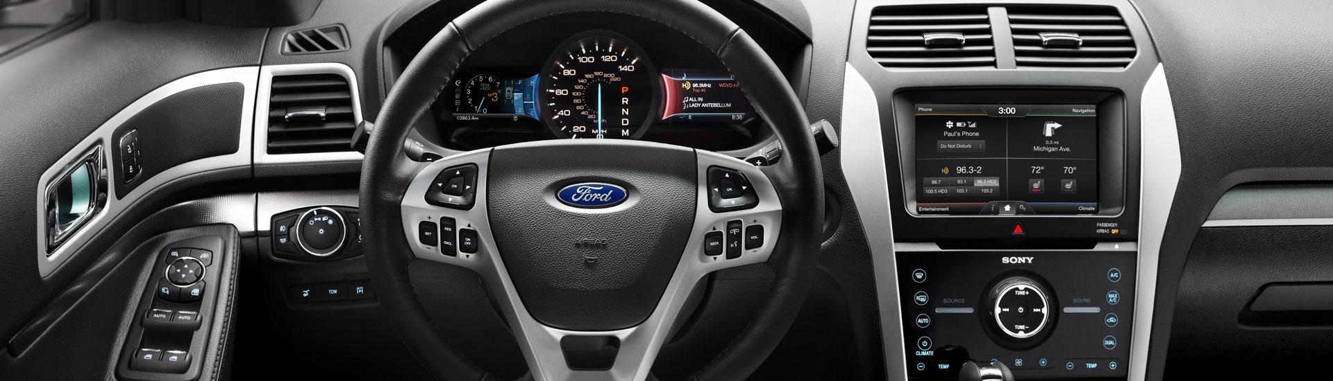Ford Explorer Custom Dash Kits