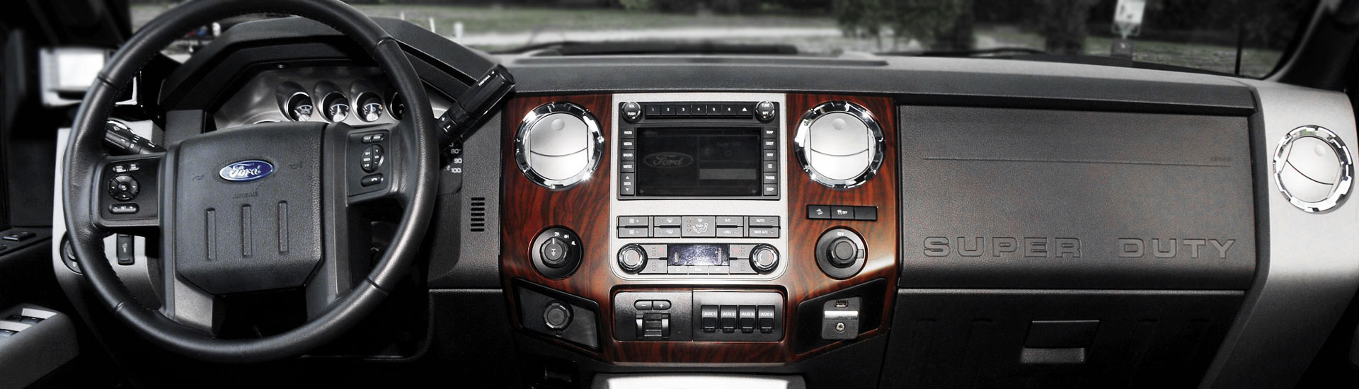 Ford F-250 Custom Dash Kits