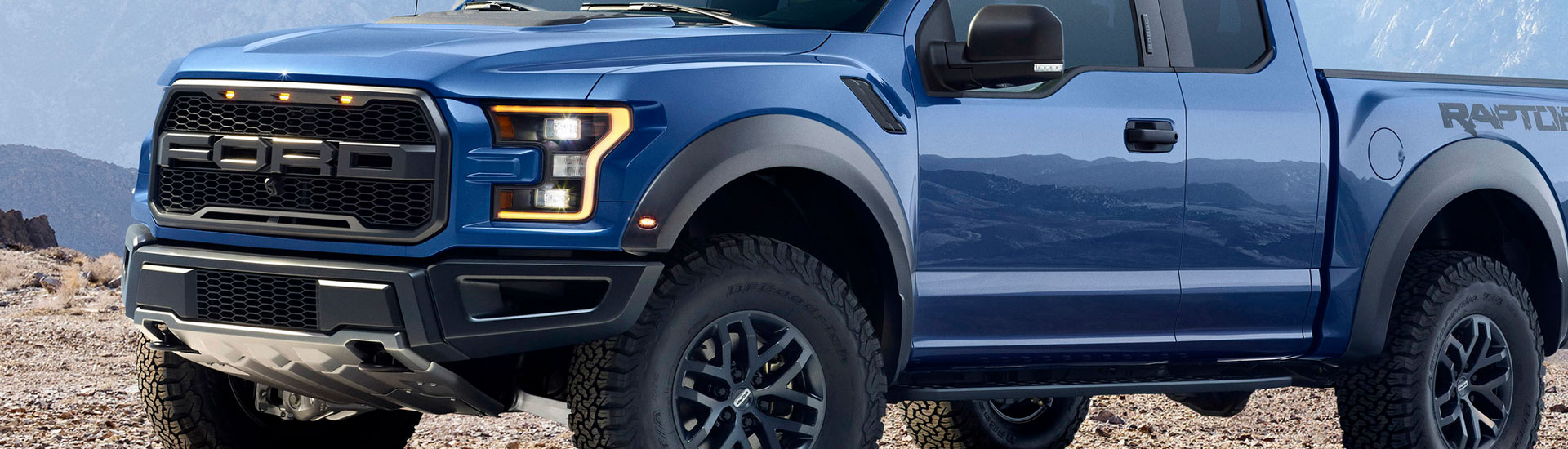 Ford F-150 Headlight Tint Covers