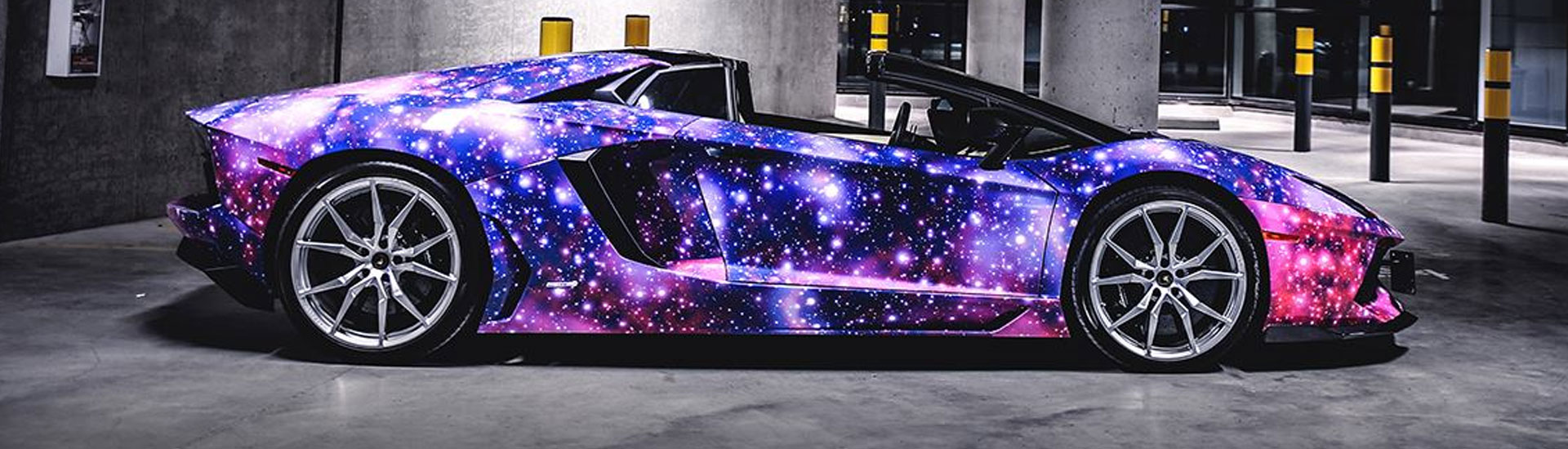 galaxy car wrap films