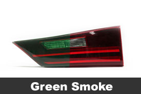 Green Tail Light Tint Film
