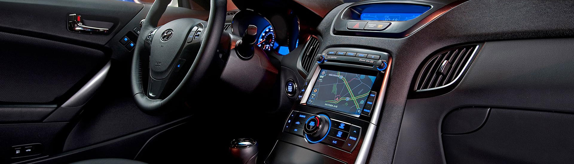 Hyundai Genesis Custom Dash Kits