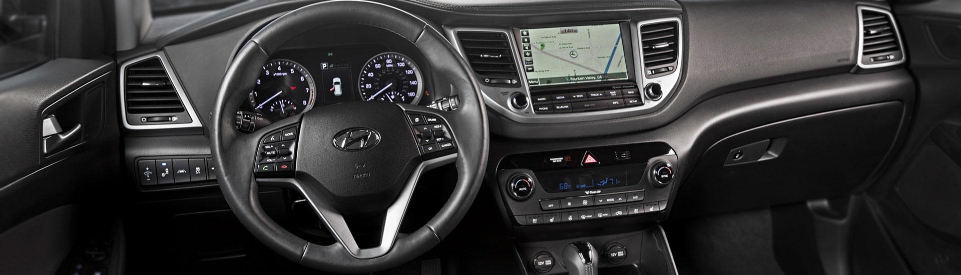 Hyundai Tucson Custom Dash Kits