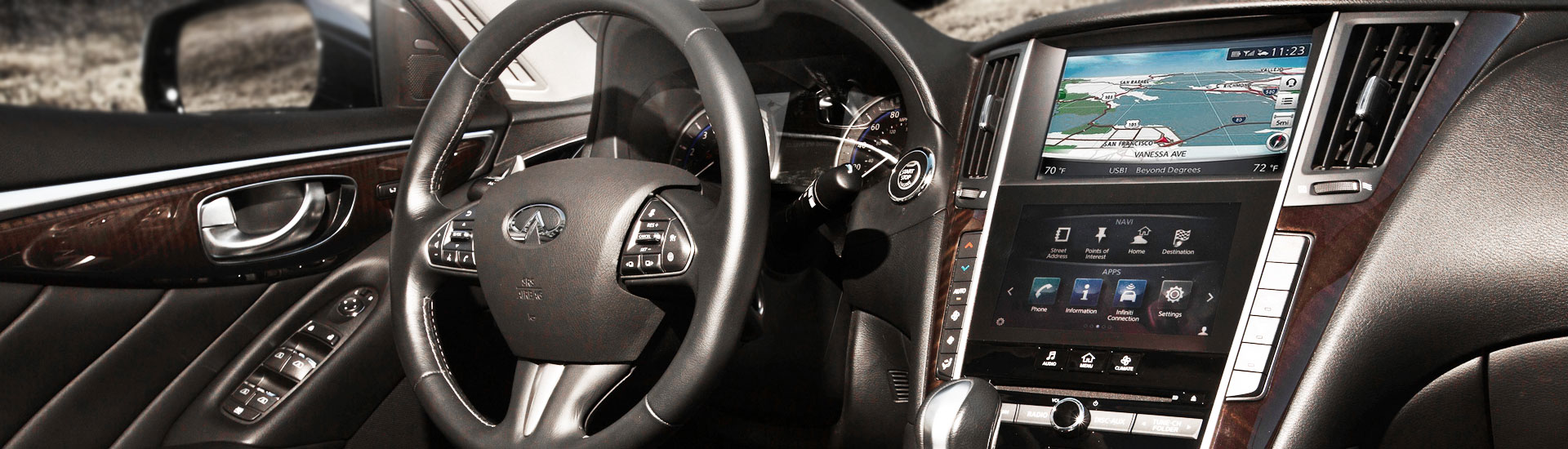 Infiniti Q50 Custom Dash Kits
