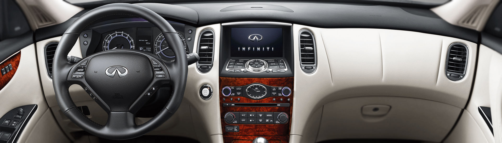 Infiniti QX50 Custom Dash Kits