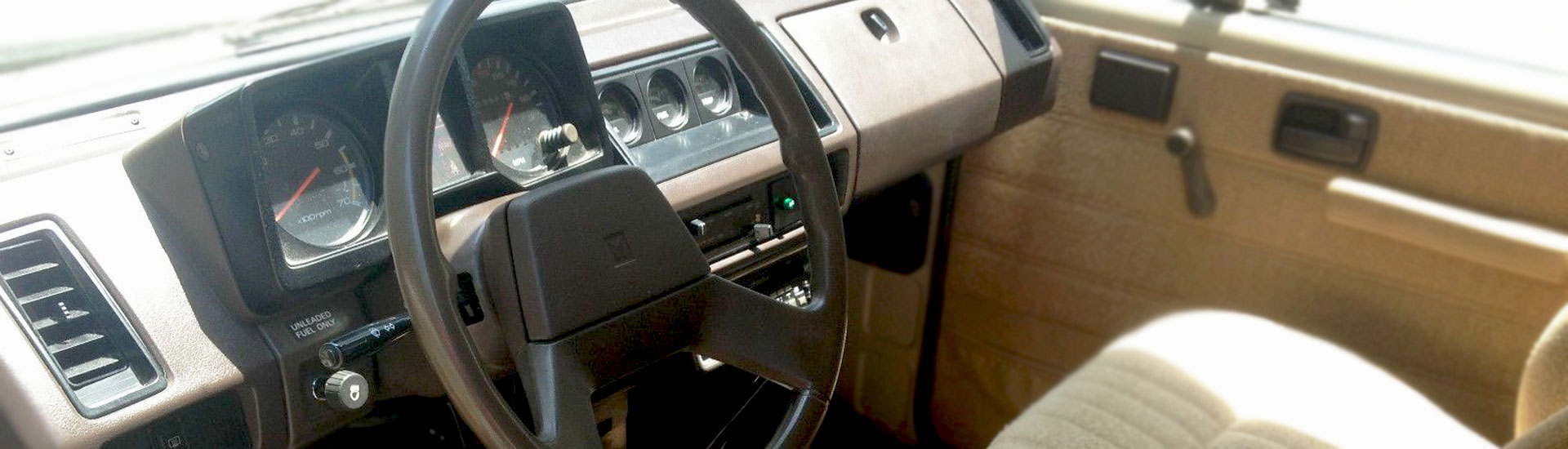 Isuzu Trooper II Custom Dash Kits