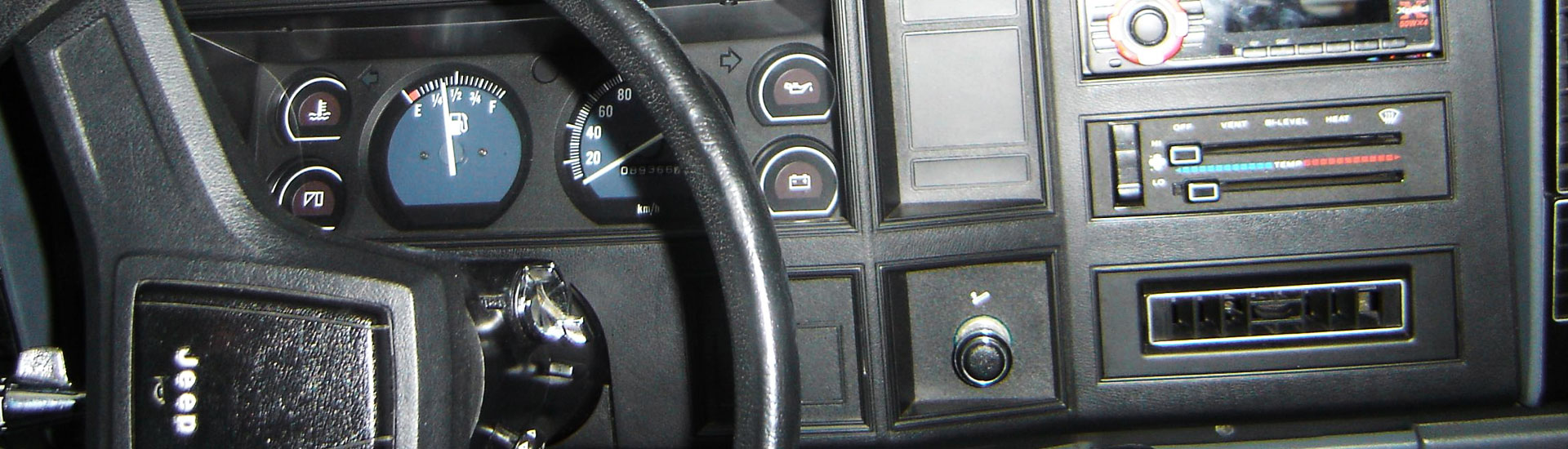 Jeep Comanche Custom Dash Kits
