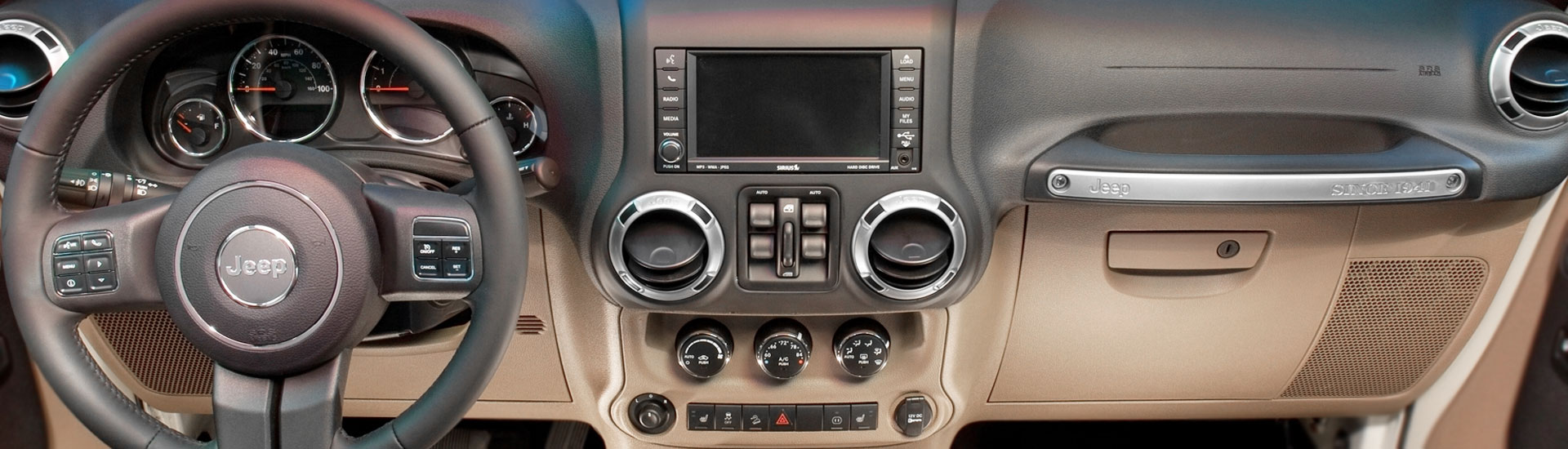 Jeep Custom Dash Kits