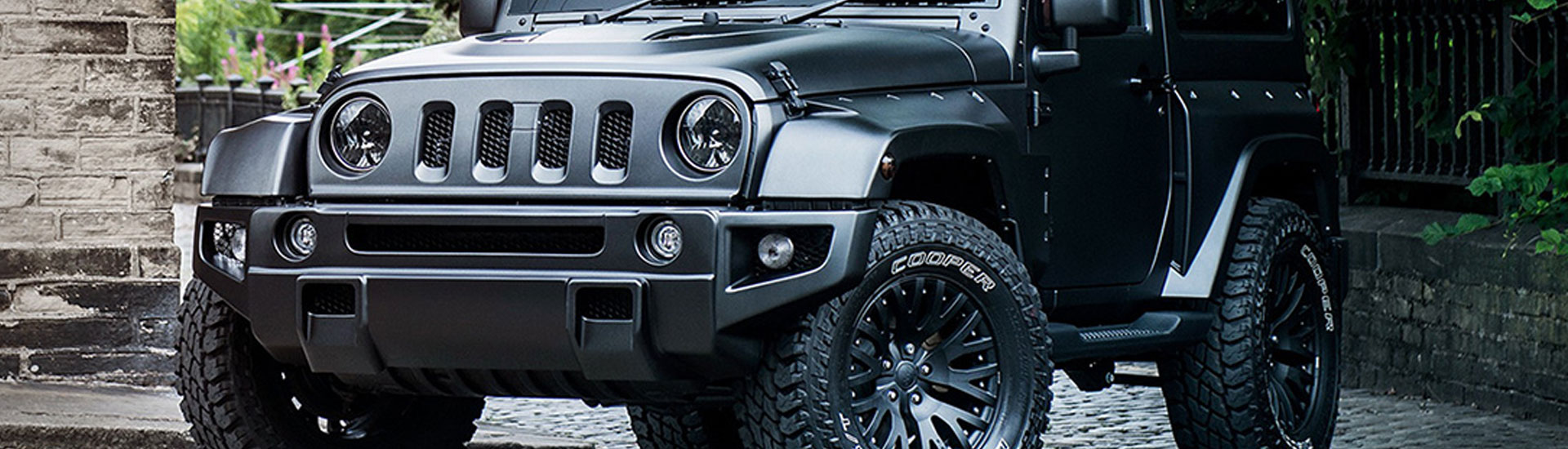 Jeep Headlight Tint Covers