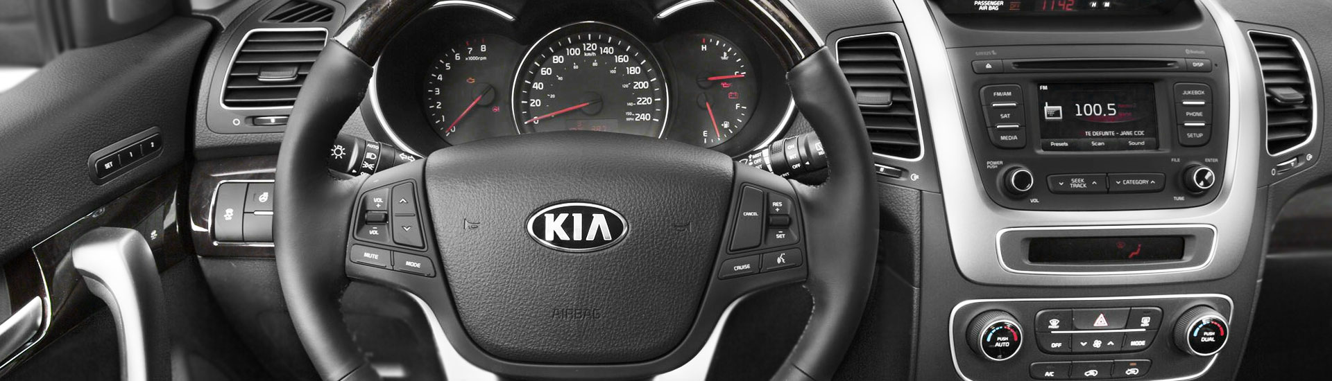 Kia Sorento Custom Dash Kits