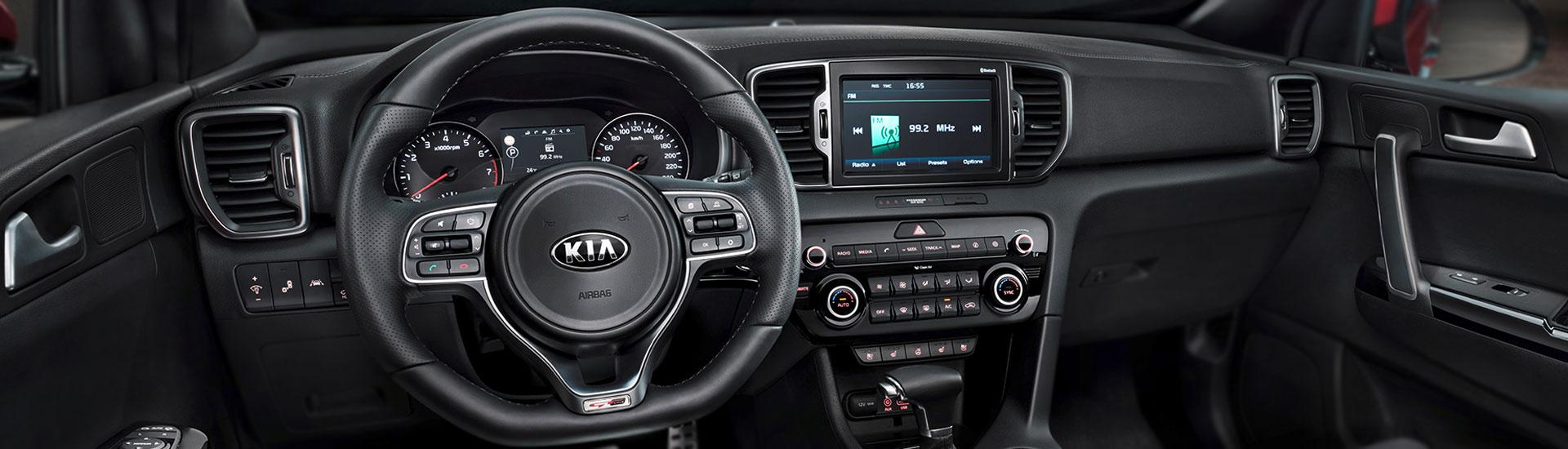 Kia Sportage Custom Dash Kits
