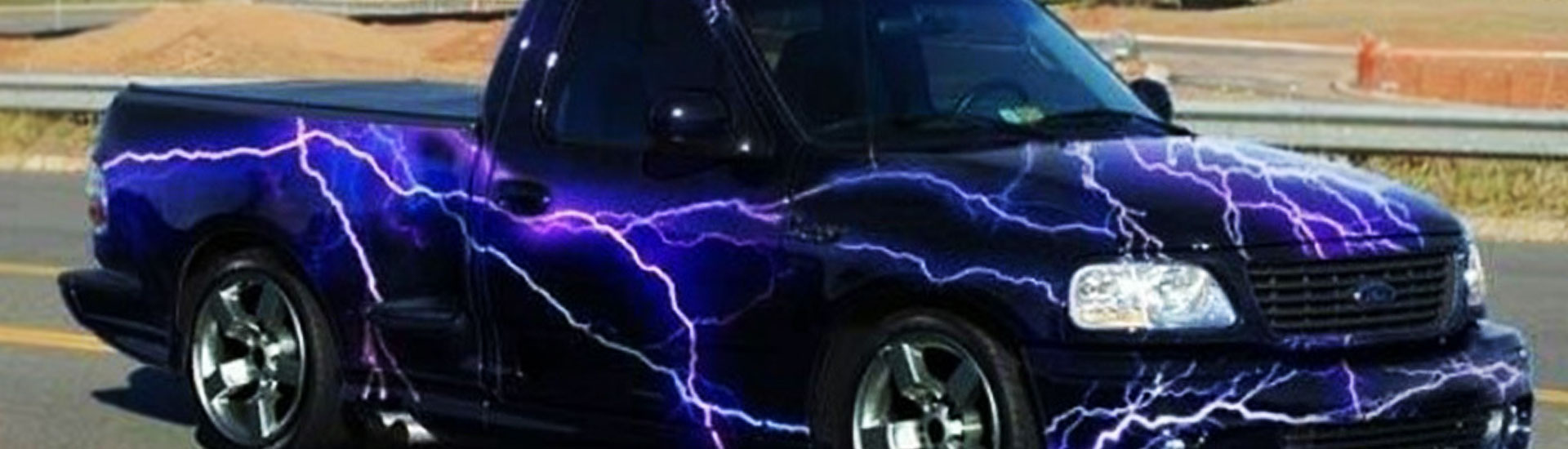 lightning car wrap films