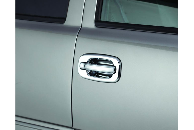 2005 Chevrolet Silverado Chrome Door Handle Covers W/ Passenger Keyhole (2 Door)